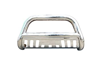 BETTER AUTOMOTIVE 2002-2005 Dodge RAM 1500//2003-2009 Dodge RAM 2500//3500 MEGA CAB 3 Bull BAR Stainless Steel Bumper Brush Guard