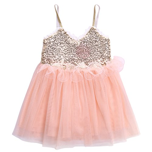 195e7888f The Best Pink Gold Girls Dress - See reviews and compare