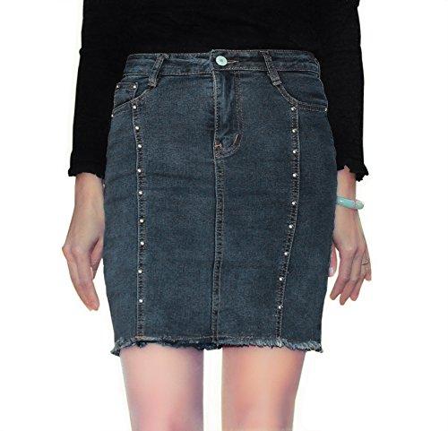 goddess denim skirt