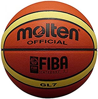 Molten BGL7 Ballon de basket-ball Orange Taille 7