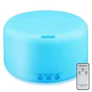 URPOWER 1000ml Essential Oil Diffuser Humidifiers Remote Control
