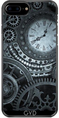 Coque pour Iphone 7 Plus / 8 Plus (5,5'') - Horlogerie Steampunk Argent by Britta Glodde