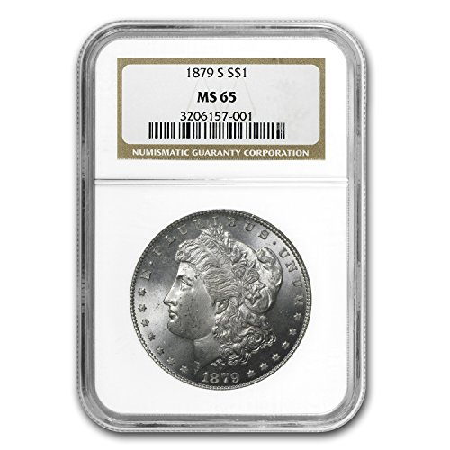 1879 S Morgan Dollar MS-65 NGC $1 MS-65 NGC