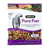 Pure Fun Bird Food for Parrots & Conures by ZuPreem,NET WT 2LB (907g)