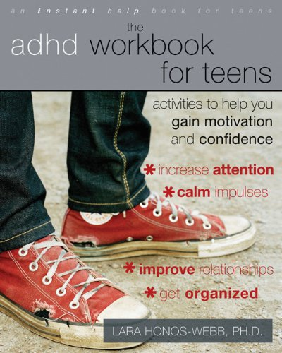ADHD Workbook Teens Activities Motivation product image