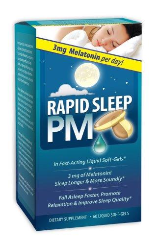 Nutrition Appliquée sommeil rapide PM, 60 Liquid Gels mous