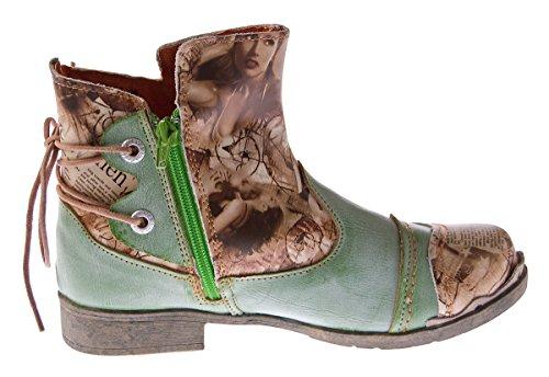 Donna verde Stivali Tma Desert Verde Boots HnOqqR7wp