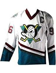 Joshua Jackson Signed Charlie Conway Mighty Ducks Jersey Beckett 19909f8a9