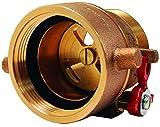 Dixon APRD250F 2-1/2'' NH Adjustable Pressure Restricting Device, 2.5'' ID, Cast Brass