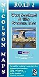 Nicolson Map 02. West Scotland & the Western Isles 1 : 250 000 (Nicolson Road Maps)