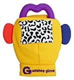 Brand new Gummee Glove with heart-shaped silicone teething ring