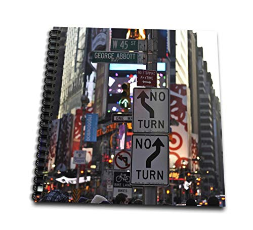 (8x8 drawing book) - Kike Calvo Architecture New York City - Busy life in Times Square Neon lights ads and theatre district 2 - Drawing Book