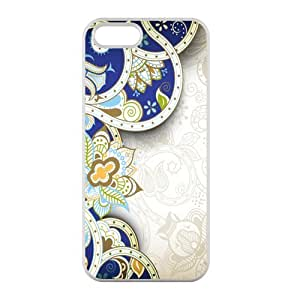 Custom Beautiful Streak European Style Case Cover Protector Compatible with iPhone 5 5S 100% TPU (Laser Technology)