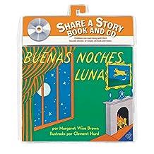 Buenas noches, Luna libro y CD: Goodnight Moon Book and CD (Spanish edition)