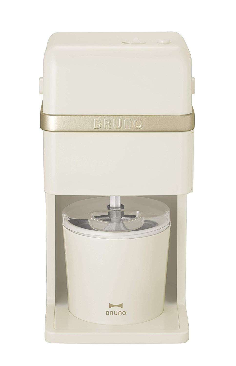 BRUNO Ice Cream & Shaved Ice Maker (Ivory) BOE061-IV【Japan Domestic Genuine Products】【Ships from Japan】