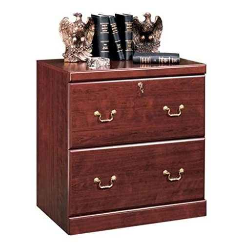 Bowery Hill 2 Drawer Lateral Wood File Cabinet in Classic Cherry by Bowery Hill