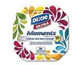 """Health & Personal Care : Dixie Ultra Moments 8"""" Plates, Family Fun Design, 26 Count"""