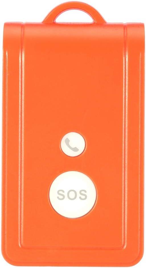 Jacksking Bot/ón de Llamada Tarjeta SIM port/átil gsm SOS de Emergencia y Sistema de Alarma de Llamada Sistema de Alerta Timbre de Llamada con Correa para Pacientes Mayores