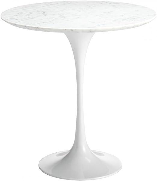Eero Saarinen Mesa Circular de Estilo Tulip mármol: Amazon.es: Hogar