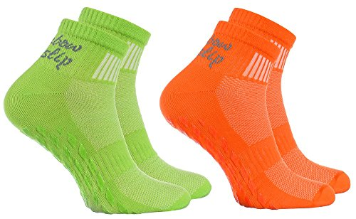 Coton Tailles Idéal Les Colorées 2 36 X Danse Yoga Antidérapantes Orange Chaussettes Vert Ou Gymnastique 1 Respirant Fitness 6 Le Pilates 4 De Trampoline Pour Abs 46 Martiaux Sports Arts Paires F0nv7Bqw