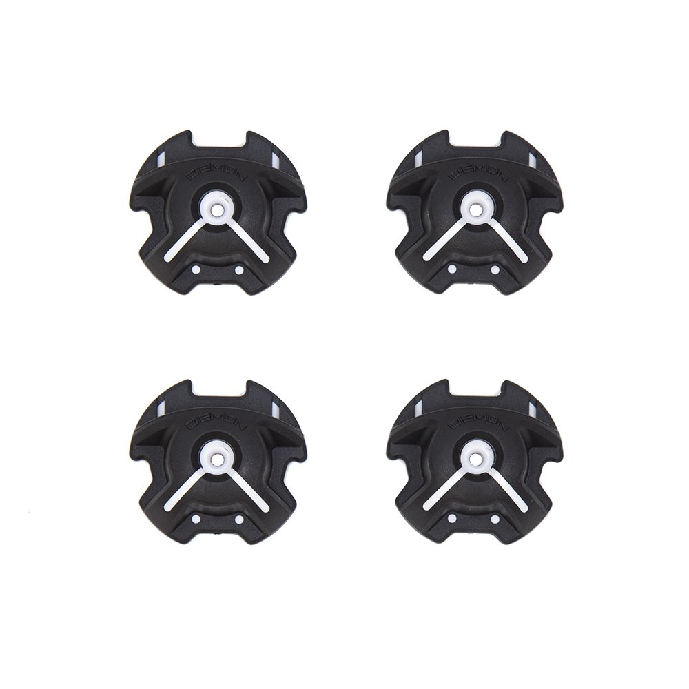 Demon Wedge Snowboard Wall Mounts Black Combo pack (2 Pairs-Hangs 2 Snowboards) by Demon United