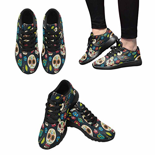 Chaussures De Course De Trailprint Womensprint Jogging Sports Légers Marchant Des Baskets Athlétiques Jour De La Mort Multi 1