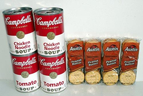 Campbell Hausfeld Chicken Noodle Soup, Tomato Soup & Pean...