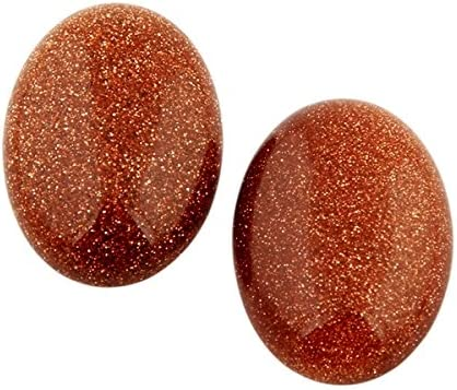 Goldstone Cabochon Loose Gemstones Pendent Excellent Hand Making Shape Oval Weight 57 ct Size 35x22mm A-181