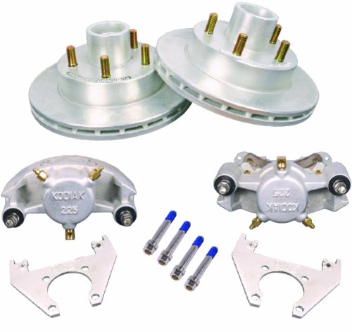 "KODIAK 10"" Trailer Disc Brake Assy, DAC Bearings & Seals incl. (Comp. 1 Axle Kit)"