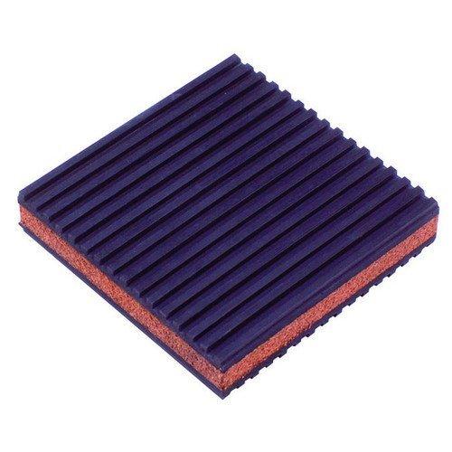 4 x 4 x 7//8 DiversiTech MP-4C Rubber//Cork Anti-Vibration Pad