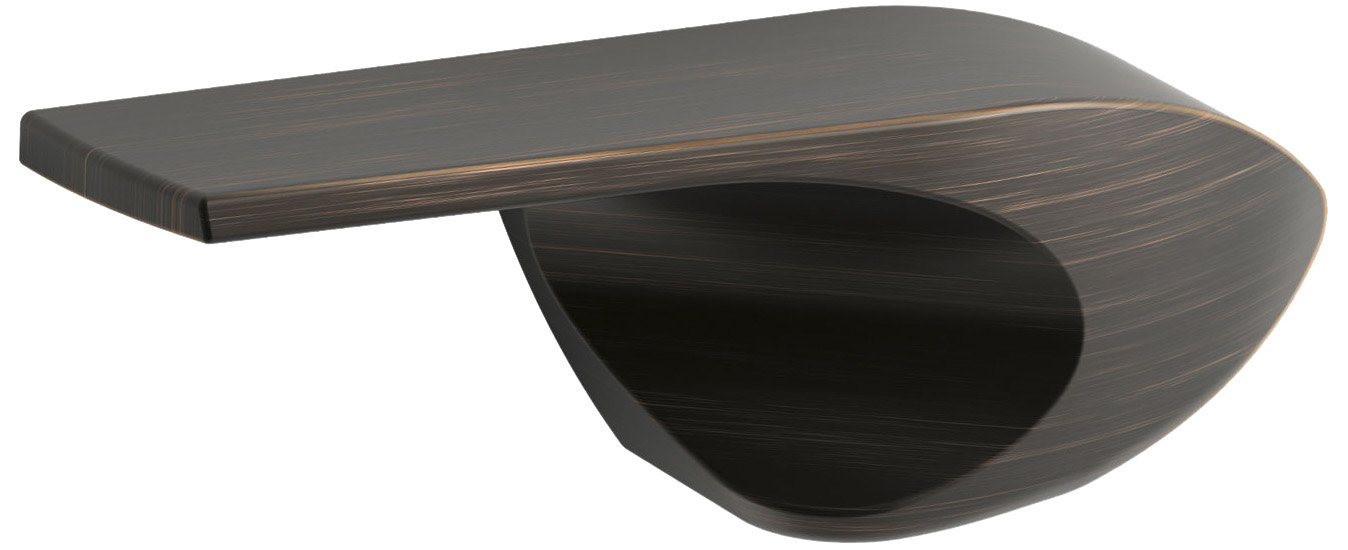 Kohler K-9380-L-2BZ Wellworth Class Five Left-Hand Trip Lever, Oil Rubbed Bronze by Kohler