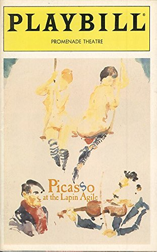 PICASSO AT THE LAPIN AGILE - PLAYBILL - FEBRUARY 1996 - VOL. 96, NO. 2 (Steve Martin Picasso At The Lapin Agile)