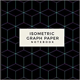isometric graph paper notebook grid of equilateral triangles