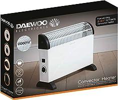 Daewoo Convector Heater 3 Heat Settings Space Warmer