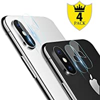 iPhone X Camera Lens Protector - [4 PACK] ICHECKEY Super...