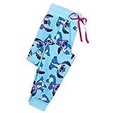 Disney Stitch Lounge Pants for Women Size Ladies L Multi