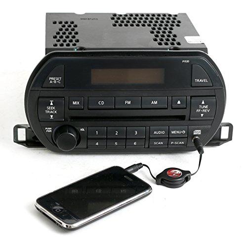 Input Aux Nissan (Nissan Altima 02-04 Radio AM FM CD Player w Aux 3.5mm Input - PY530-281853Z710)