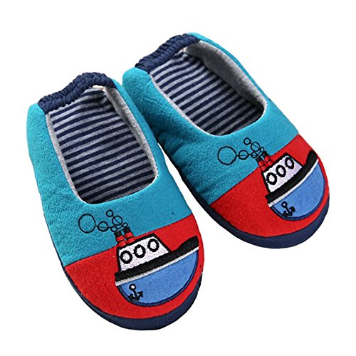 Pictures of Beeliss Toddles Slippers Cartoon House Shoes 7 B(M) US 3
