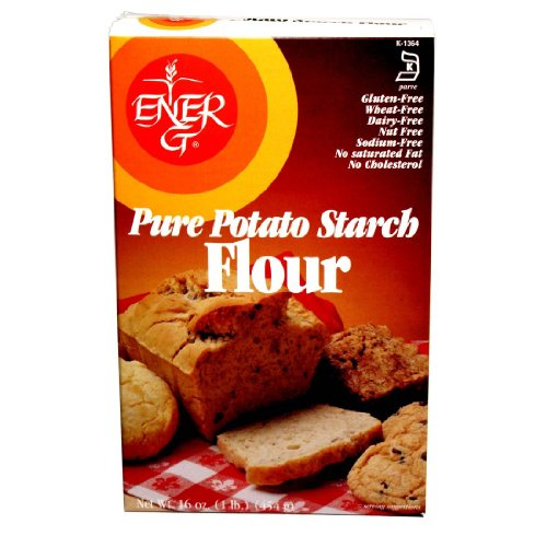 Ener-G Foods Potato Starch Flour, 16-Ounce (Pack of 6)