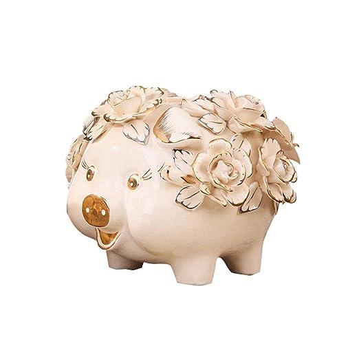 Creativa Huchas Tarro de cerámica Cerdo Moneda del Dinero de ...