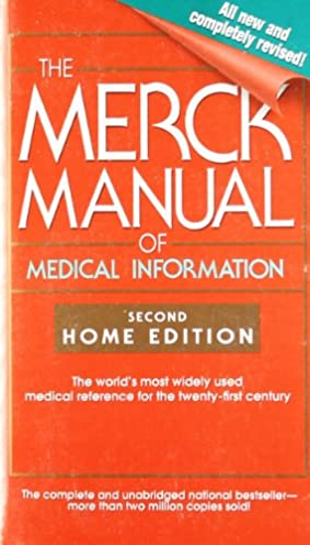 the merck manual of medical information second home edition merck rh amazon com Merck Manual Pocket Size Merck Manual Inside