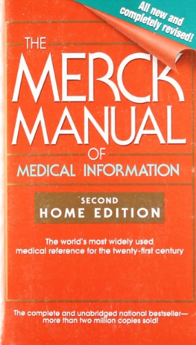 The Merck Manual of Medical Information: Second Home Edition (Merck Manual of Medical Information, Home Ed.) (Family And Consumer Science High School Textbooks)
