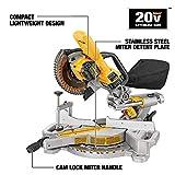 DEWALT 20V MAX 7-1/4-Inch Miter Saw, Cordless