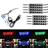 xkglow control module - iJDMTOY 8-Piece Universal Fit 48-LED RGB Multi-Color Truck Bed Cargo Area LED Lighting Kit w/ Wireless Remote Control