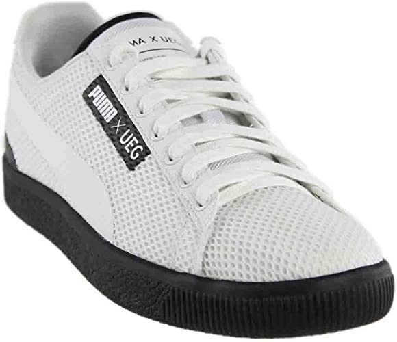 | PUMA Men's Court X Ueg Ankle High Mesh Sneaker