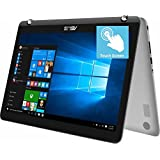 2018 Flagship Asus Convertible 2-in-1 15.6 FHD IPS Touchscreen Business Laptop/Tablet, Intel Core i5-7200U up to 3.1GHz 8GB DDR4 256GB SSD 802.11ac USB Type-C HDMI Bluetooth Fingerprint Reader Win 10