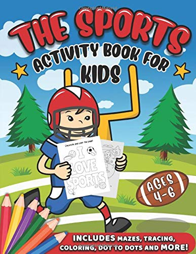 Sports Activity Book Kids Difference product image