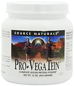 Source Naturals Pro-Vegatein Powder Mix, 16 Ounce
