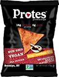 Protes Protein Chips - Tangy Southern BBQ - High Protein, Low Carb, Vegan, Gluten-Free, 4 oz. Bag (Pack of 4)