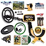 Garrett Ace 250 Discover Package with Protective Coil Cover, Rain Cover and Treasure Sound Headphones